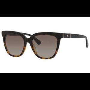 New Kate Spade Tortoise Kahli/s Sunglasses